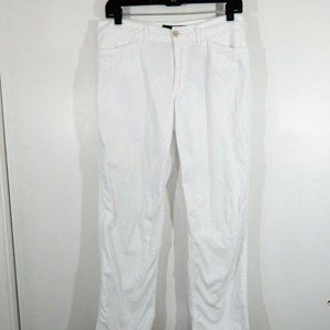 white RALPH LAUREN pants straight 6